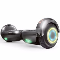 Self-balancing-ride-Chrome-Electric-scooter-Hoverboard-Bluetooth-led-6-5-034-UL-new