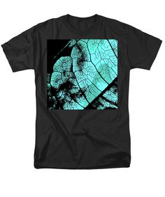 Purchase an adult t-shirt featuring the image of Aqua Leaf by Sverre Andreas Fekjan.  Available in sizes S - 4XL.  Each t-shirt is printed on-demand, ships within 1 - 2 business days, and comes with a 30-day money-back guarantee.