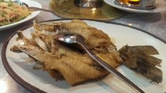 Deep fried red snapper