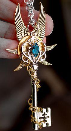 - List of the best jewelry Key Jewelry, Cute Jewelry, Jewelery, Silver Jewelry, Jewelry Accessories, Magical Jewelry, Kawaii Jewelry, Jewelry Quotes, Key To My Heart