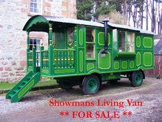 Showmans Living Van / Caravan (or posh Shepherds Hut!) FOR SALE