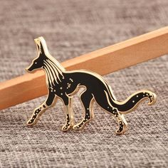 There are various kinds of custom lapel pins with good quality, cheap price and no minimum order quantity. Custom wolf enamel pins are the high quality metal pins with personalized design which made of hard enamel.