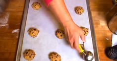 Chocolate chips cookies are one of life's most delicious gifts, but getting that perfect ooey, gooey goodness can sometimes be difficult even for more seasoned bakers. This video, courtesy of Chow, offers an easy-to-follow solution for all your cookie questions. By the end, my mouth was literally watering at the screen. Plus, I never thought... View Article