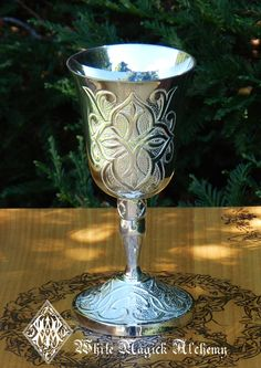 White Magick Alchemy - Celtic Chalice Goblet Cup, $39.95 (http://www.whitemagickalchemy.com/celtic-chalice-goblet-cup/)