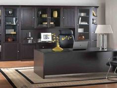Contemporary Home Office Furniture - Home-based businesses have grown popular in modern times. And working from home is definitely the latest Modular Home Office Furniture, Contemporary Home Office Furniture, Executive Office Furniture, Small Space Office, Home Office Space, Home Office Decor, Home Decor, Office Set, Office Ideas