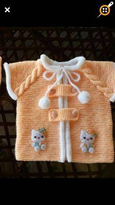 Örgü kız bebek yelek modelleri