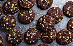 Chocolate-Pistachio Sablés - Bon Appétit 25 Days of Cookies 2013