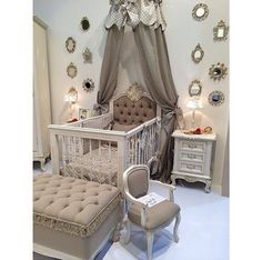I am 100% sure my baby can't have this seriously gorgeous nursery when my own room doesn't look anywhere near this good!