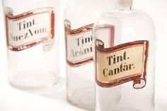Frascos decorativos de tinturas Ketchup, Bottle, Jars, Flask