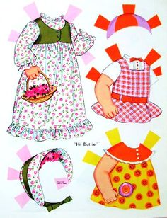Paper Dolls~Hi Dottie - Bonnie Jones - Picasa Web Albums