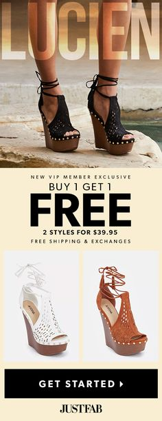 Are You Living On The Wedge ?? For a Limited Time, Get 2 Styles for $39.95! See site for available styles