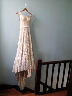 Liza + Bruno | a custom made wedding gown by A MODISTA Atelier