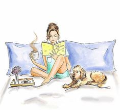 Samantha E. Buch Design, Photo Images, Dog Quotes, Life Quotes, Cute Art, Book Lovers, Fur Babies, Book Art, Illustrator
