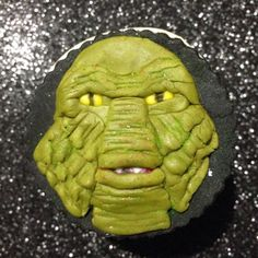 Image result for creature from the black lagoon cupcakes