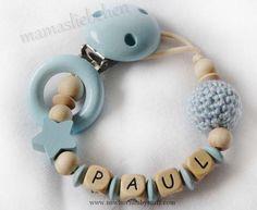 Baby Accessories  Schnullerkette *Kleiner Stern*   Hier könnt ihr eine süße...