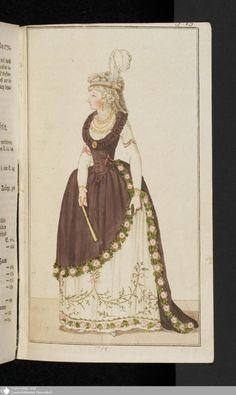 291 - Abschnitt - Journal des Luxus und der Moden - Page - Digitale Sammlungen - Digital Collections