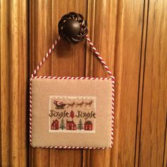 Jingle Jingle, Christmas Cross Stitch
