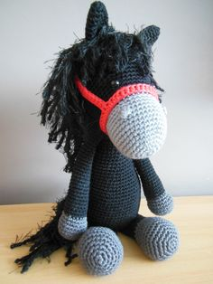 MyKrissieDolls gehaakt paardje Piem <3 crochet horse