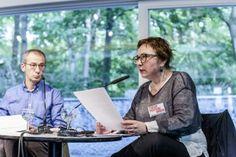 Poesiegespräch: Eugene Ostashevsky und Elena Fanailova (c) Mike Schmidt