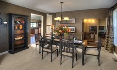 Lennar in Bonaire of Maple Grove - Monticello model formal dining room