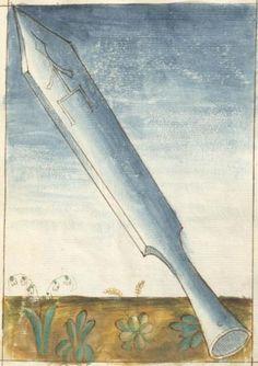 Bellifortis VerfasserKyeser, Conradus  ErschienenElsaß, [um 1460] Ms. germ. qu. 15  Folio 49r
