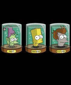 The Past Present and Futurama Cartoon Network Adventure Time, Adventure Time Anime, Animes Wallpapers, Cute Wallpapers, Iphone Wallpapers, Cartoon Shows, Cartoon Art, Futurama Tattoo, Los Simsons
