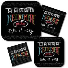 Retirement Party Tableware & Decorations