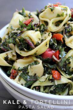 Kale & Tortellini Pasta Salad