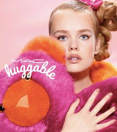 MAC Cosmetics 'Huggable' Campaign photographed by Miles Aldridge