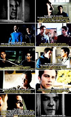 Teen Wolf - stiles and theo