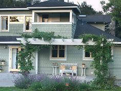 From classic to bold, showcase your style outside your home with inspiration from these exterior paint colors schemes that offer serious curb appeal — and beckon visitors inside.