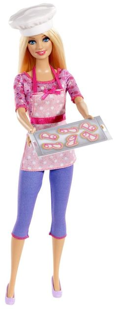Barbie Careers Cookie Chef Doll - Free Shipping