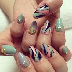"""""""#nail #nails #hand #foot #footnail #cute #cool #fashion #pretty #photo #pic #girl #art #gel #nailart #gelnail #instaglam #ネイル #ネイルアート #アート #ジェルネイル #ベトロ…"""""""