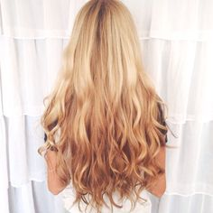 Hair care tips for long, healthy hair (and some hair inspo like this reverse ombre!)