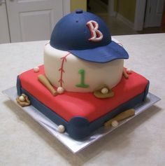 Here is gallery of birthday baseball cake photos and related videos on Houses Plans - Designs. Moca, Fancy Cakes, Cute Cakes, Baby First Birthday Cake, Baseball Birthday, Baseball Party, Baseball Stuff, Cakes For Boys, Food Art
