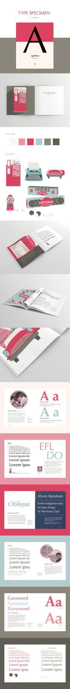 """내 @Behance 프로젝트 살펴보기: """"type specimen"""" https://www.behance.net/gallery/45826265/type-specimen"""