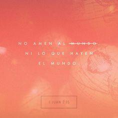 Las cosas que ofrece la gente del mundo no vienen de Dios sino de los pecadores de este mundo. Y éstas son las cosas que el mundo nos ofrece: los malos deseos la ambición de tener todo lo que vemos y el orgullo de poseer muchas riquezas. 1 Juan 2:16 @youversion