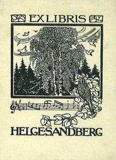 Tree bookplate
