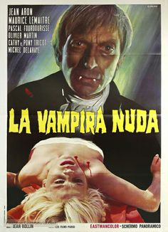 Classic Horror Movies, Classic Films, Trash Art, Horror Movie Posters, Thriller, Science Fiction, Nude, Dracula, France