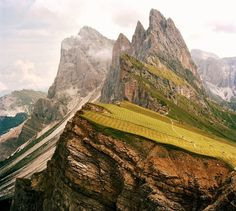 On Top of the Dolomites via allthatisinteresting #Photography #Dolomites #allthatisinteresting