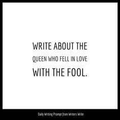 The knight saved her life? No, the knight gave her time, the fool gave her life. Writing Prompts Poetry, Book Prompts, Dialogue Prompts, Writing Advice, Writing Help, Writing A Book, Writing Ideas, Fantasy Writing Prompts, Fanfiction Prompts