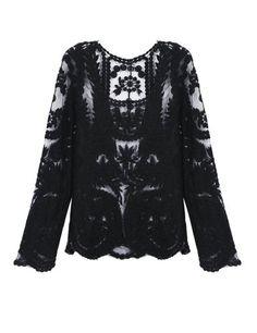 PrettyGuide Women's Semi Embroidery Floral Lace Blouse (Small US0/2, Black) PrettyGuide http://www.amazon.com/gp/product/B00GURSZ0Y/ref=as_li_tl?ie=UTF8&camp=1789&creative=390957&creativeASIN=B00GURSZ0Y&linkCode=as2&tag=monika04-20&linkId=IRAZ7IQOMUAVIH6E