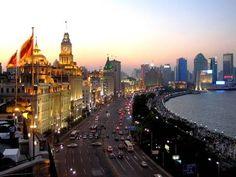 Shanghai, China - view of the bund