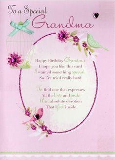 Poem for Grandmas Birthday Awesome 88 Birthday Card to Grandma From Grandson to . Poem for Grandma Happy Birthday Grandma Quotes, Birthday Cards For Mother, Birthday Verses For Cards, Best Friend Birthday Cards, Creative Birthday Cards, Birthday Poems, Birthday Card Sayings, Homemade Birthday Cards, Happy Birthday Greeting Card