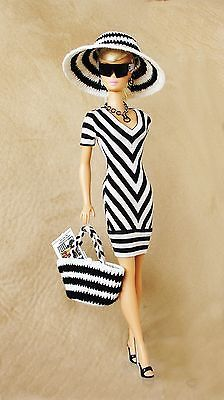 OOAK Fashions for Silkstone / Vintage barbie / Fashion Royalty -- With Swimsuit