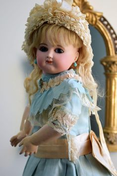 Spectacular Bebe by Schmitt Et Fils with Signed Body and Fabulous from doll-heaven on Ruby Lane