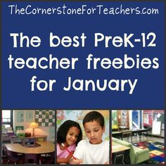 PreK-12 Teacher Freebies