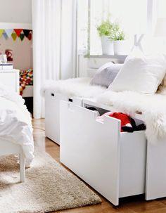 Ikea Stuva Banc Avec Rangement Blancbouleau Rangement Bas