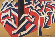 "David Garshen Bomberg (English, 1890 – 1957)  ""The Mud Bath"", 1914"