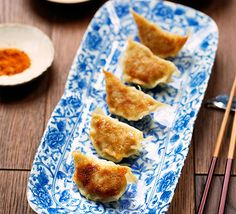 Learn to make these authentic Japanese meat or vegetable dumplings, known as yaki gyoza, with our step-by-step guide